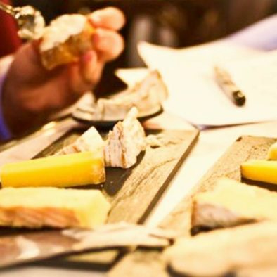 tasting of cheese in seville